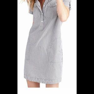 Vineyard Vines Striped Utility Dress Sz 12